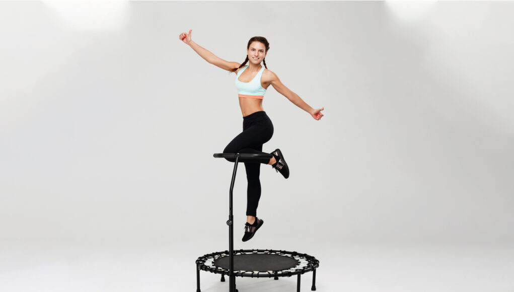 mini trampolino elastico
