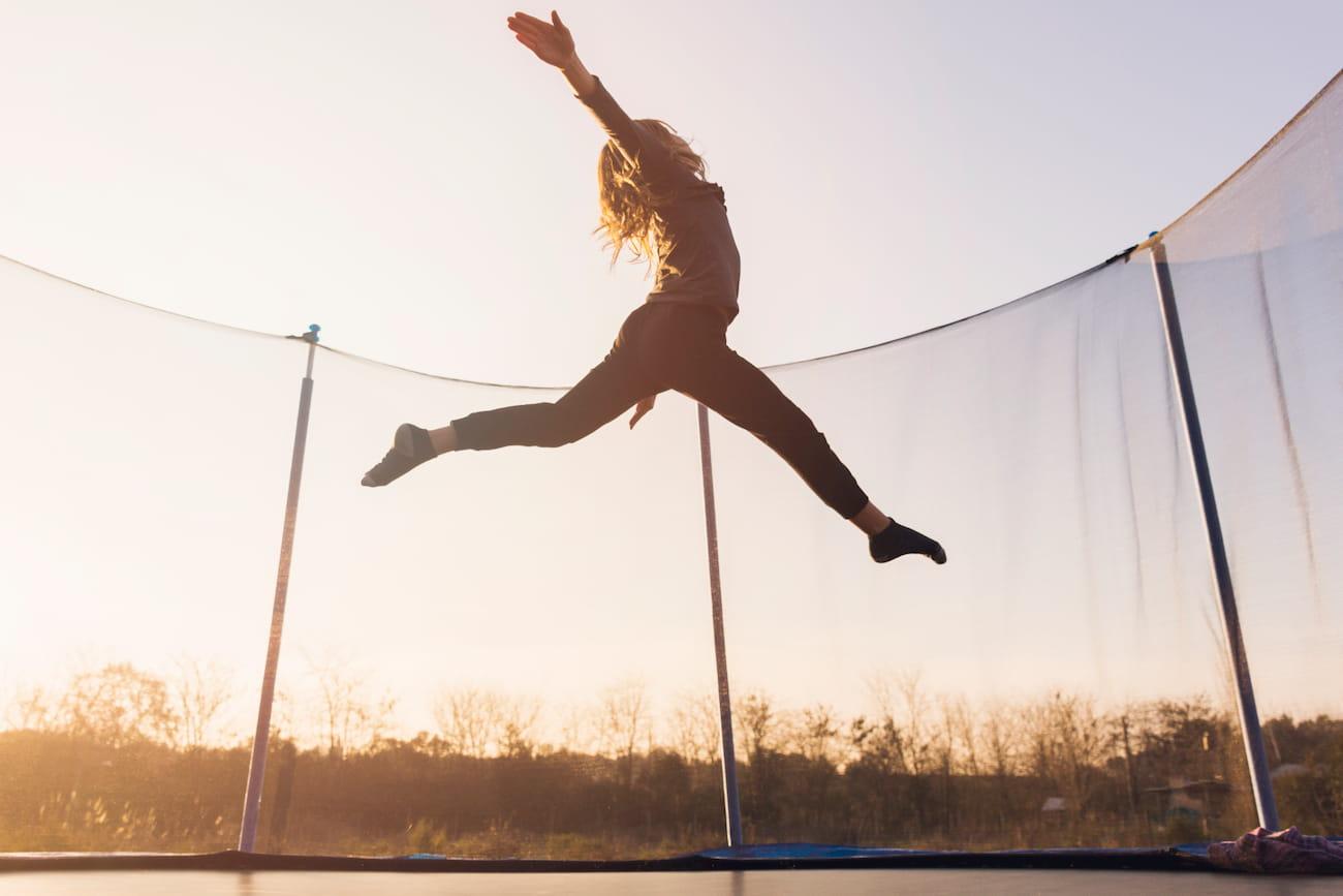 trampolino elastico esercizi